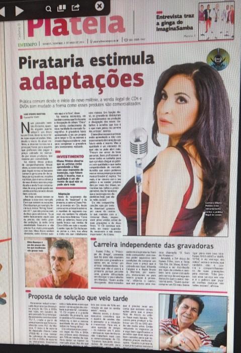 Eliana Printes jornal Em Tempo