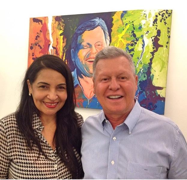Eliana Printes e Arthur Neto