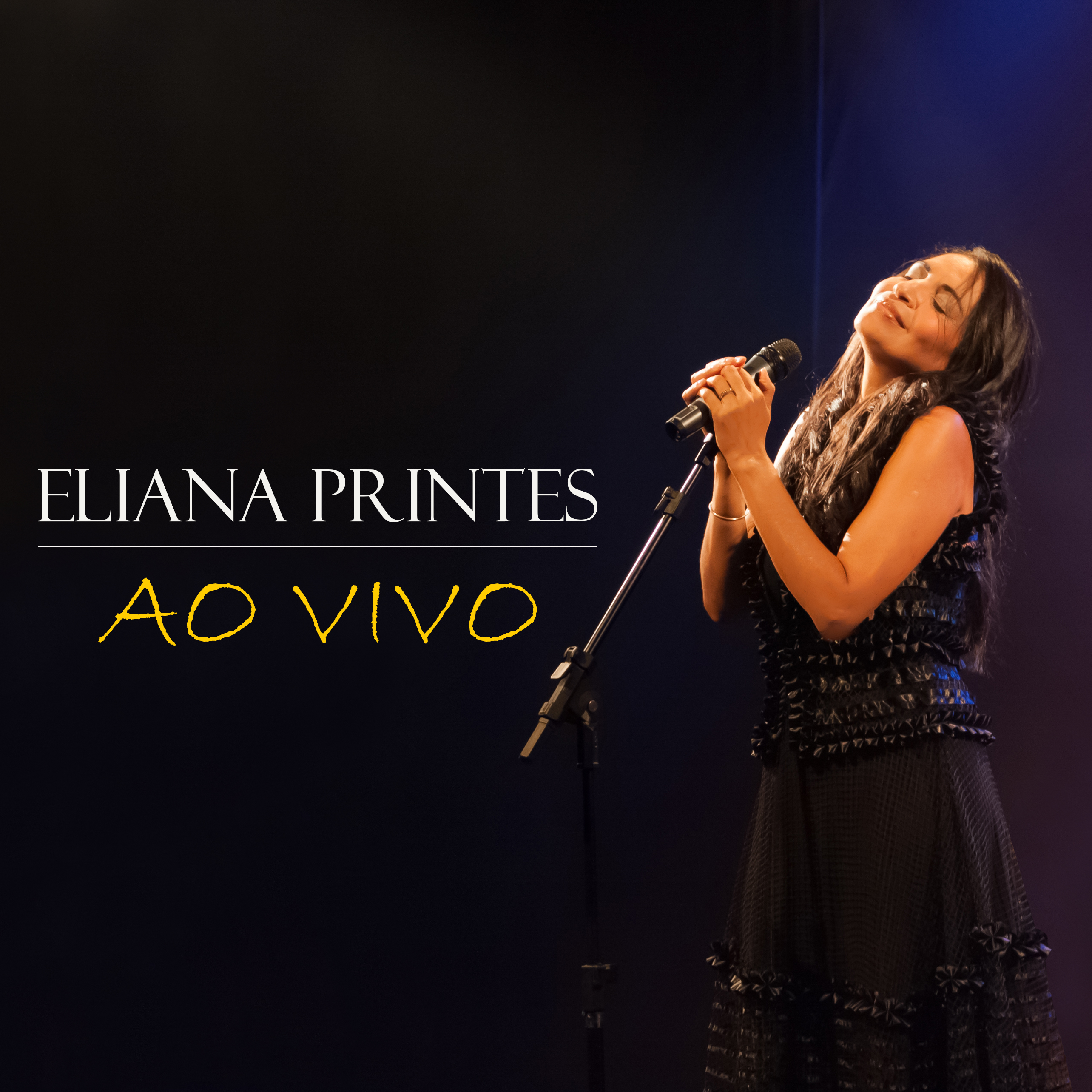 Capa do álbum Eliana Printes Ao Vivo