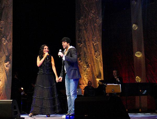 Eliana Printes e Daniel Del Sarto Ao vivo no Teatro Amazonas